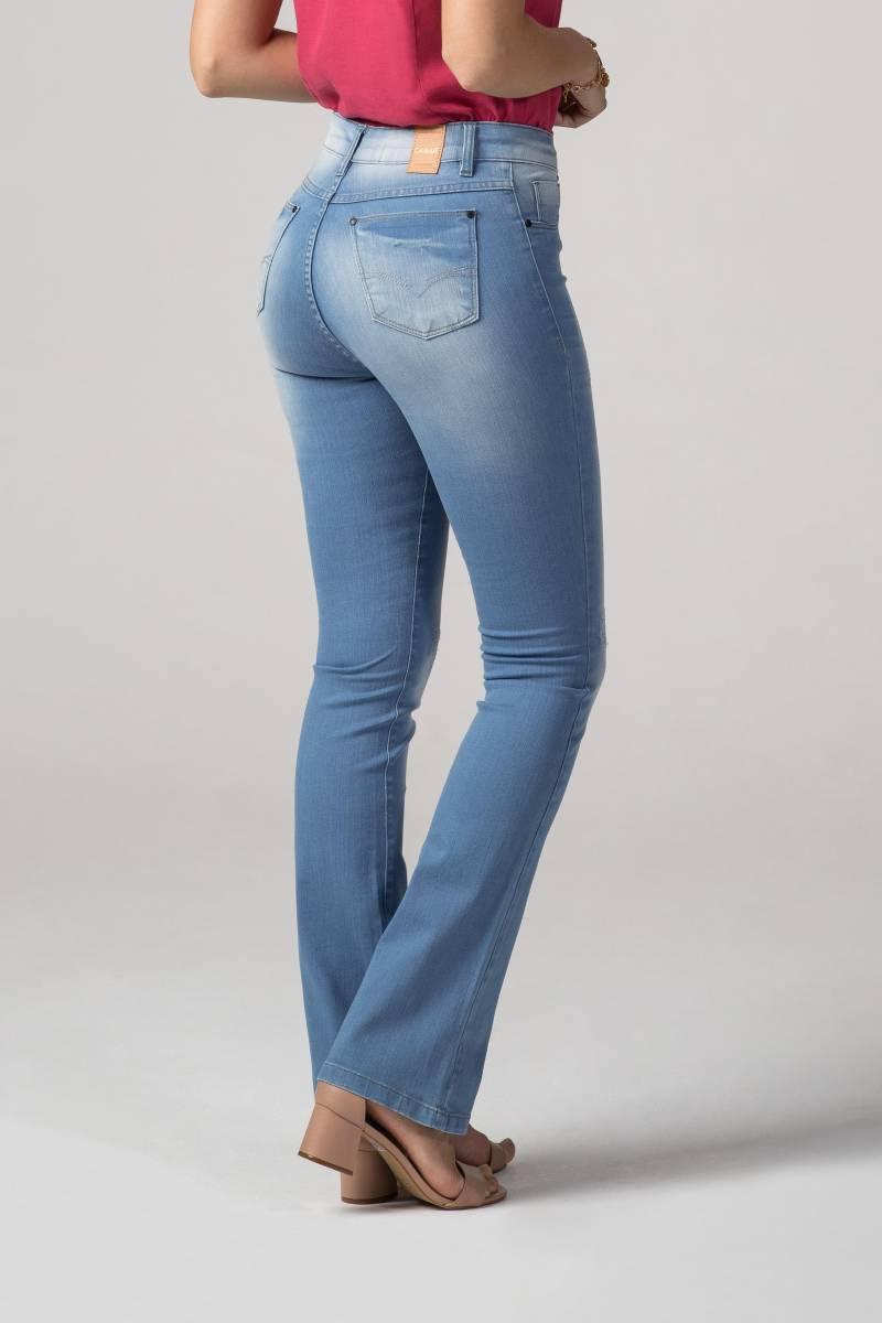 Calça Flare Jeans F2019329