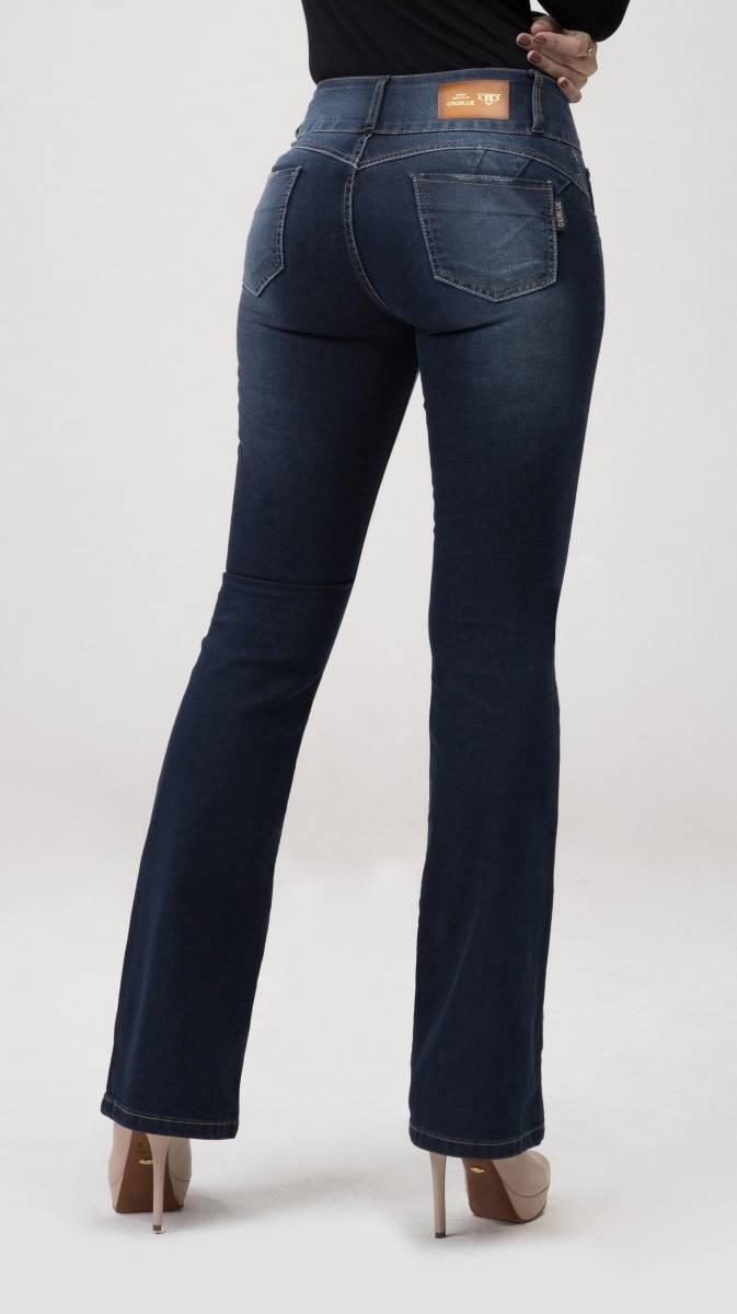 Calça Flare Jeans Levanta Bumbum F2020143