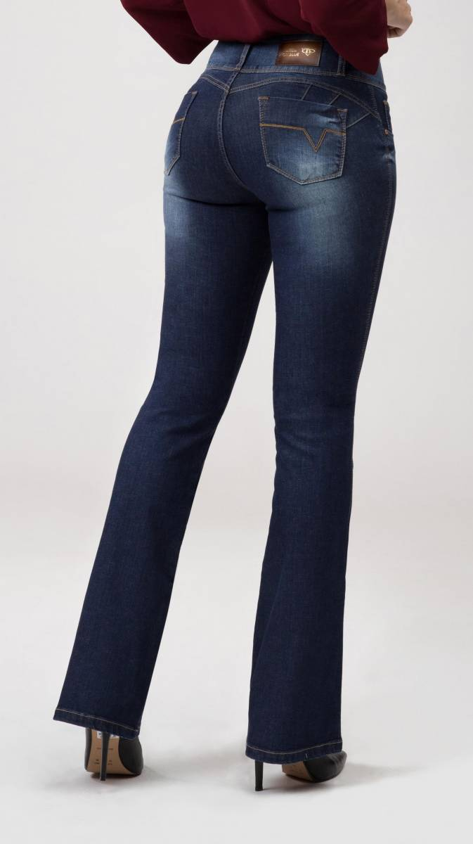 Calça Flare Jeans Levanta Bumbum F2020140