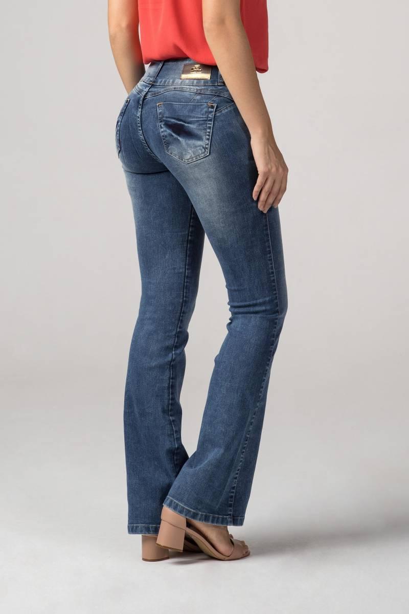 Calça Flare Jeans Levanta Bumbum F2019331