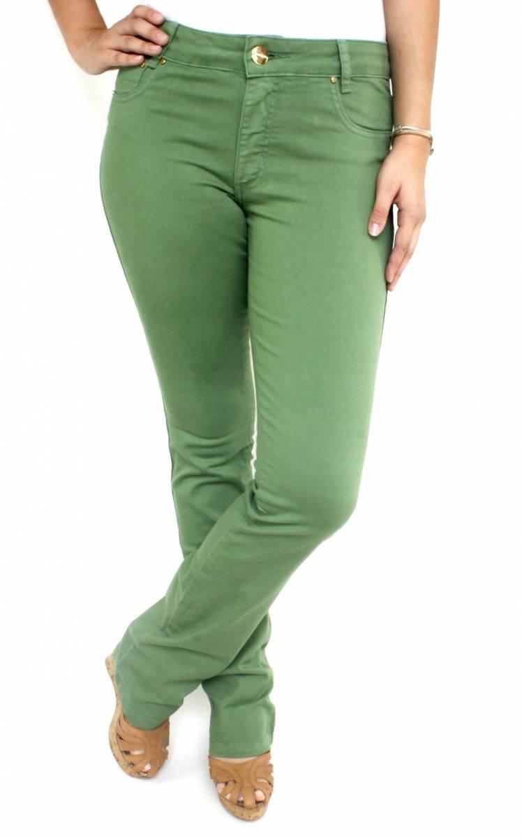 Calça Flare Verde Feminina F2018005