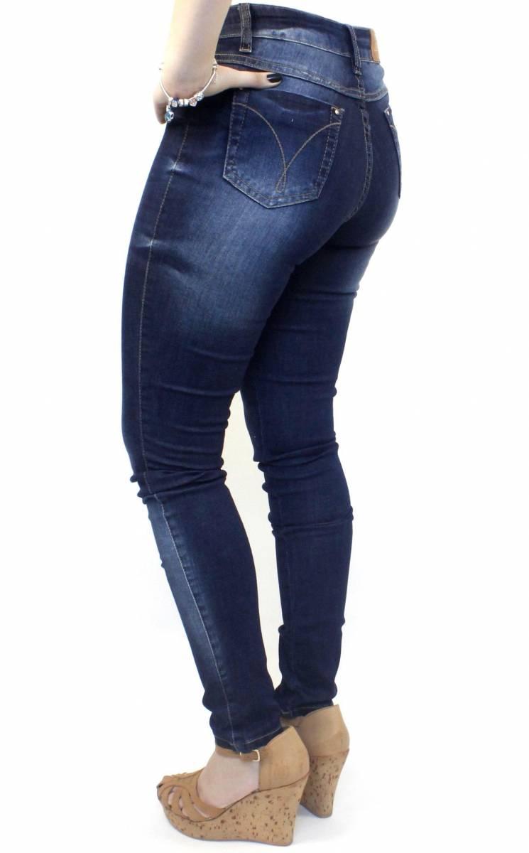 Calça Jeans Cintura Alta Feminina F2018100