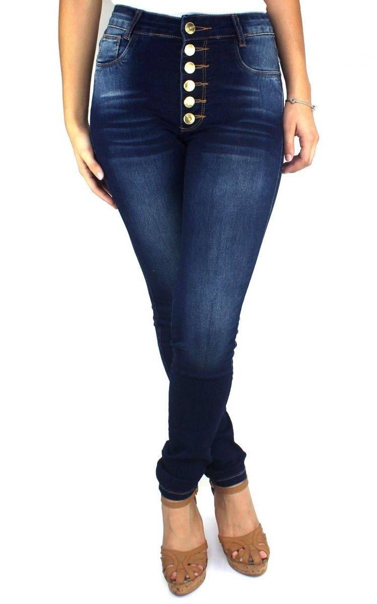 Calça Jeans Feminina Hot Pants Skinny F2256123