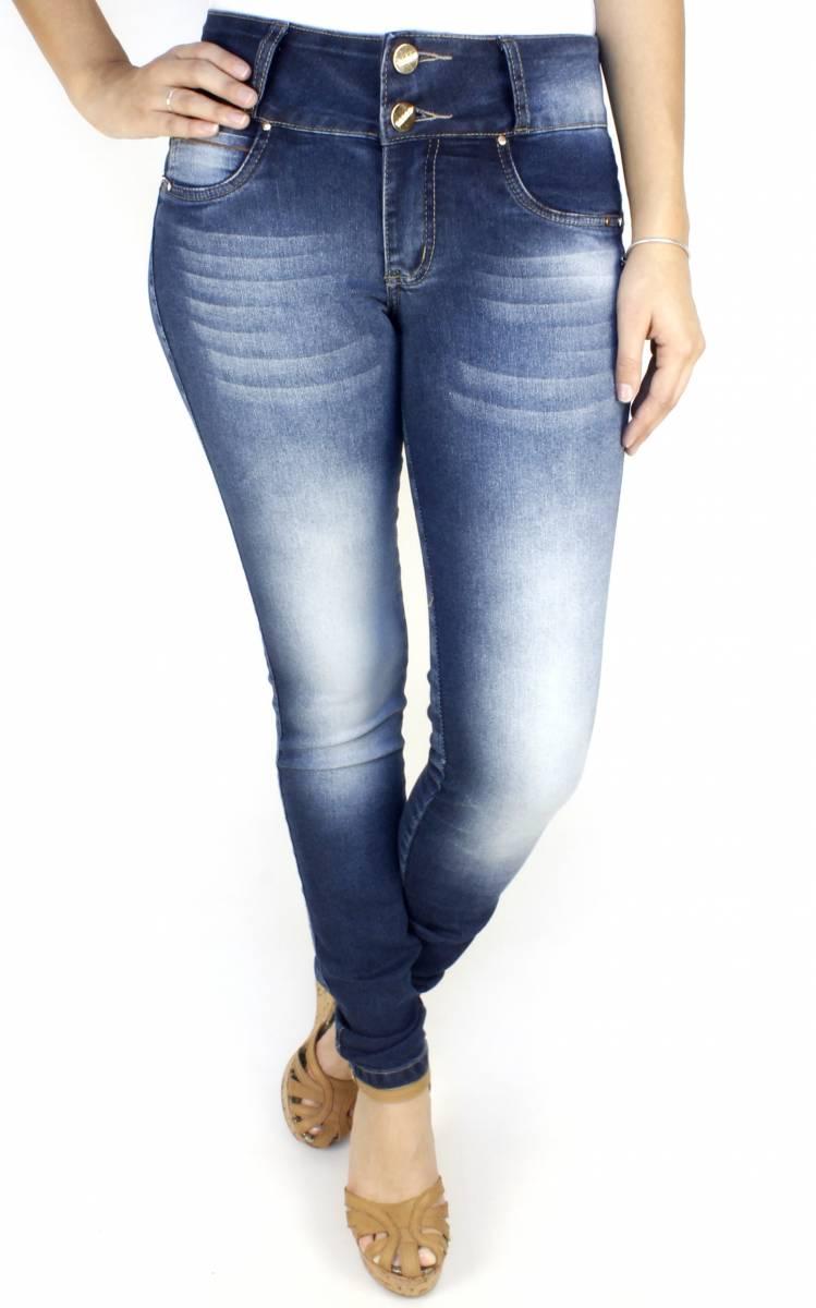 Calça Jeans Feminina Skinny Levanta Bumbum F2017027