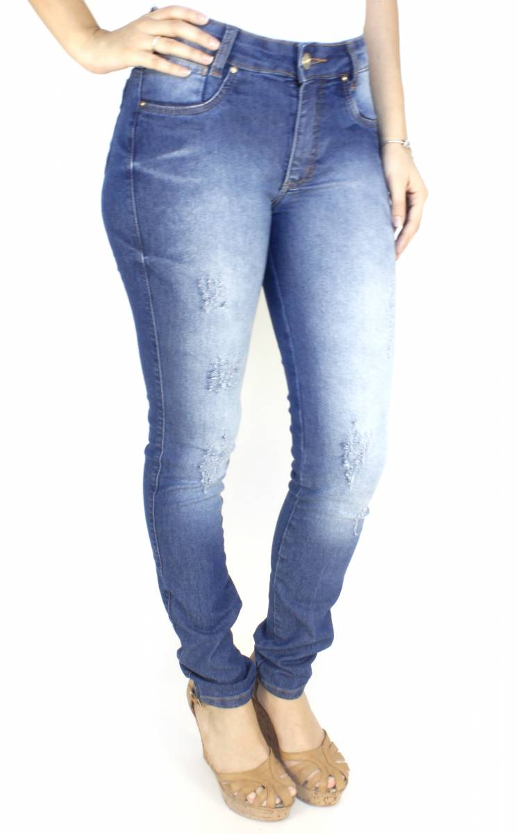 Calça Jeans Feminina Skinny F2017054