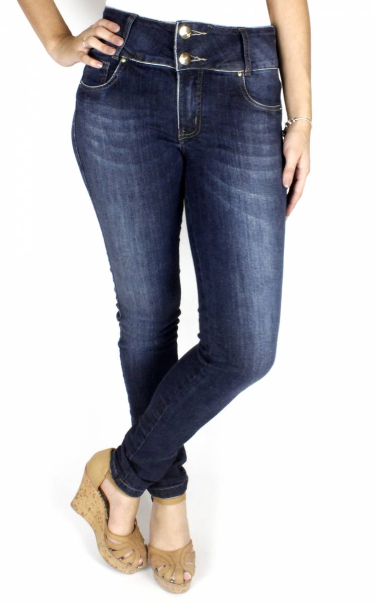 Calça Jeans Feminina Skinny F2017084