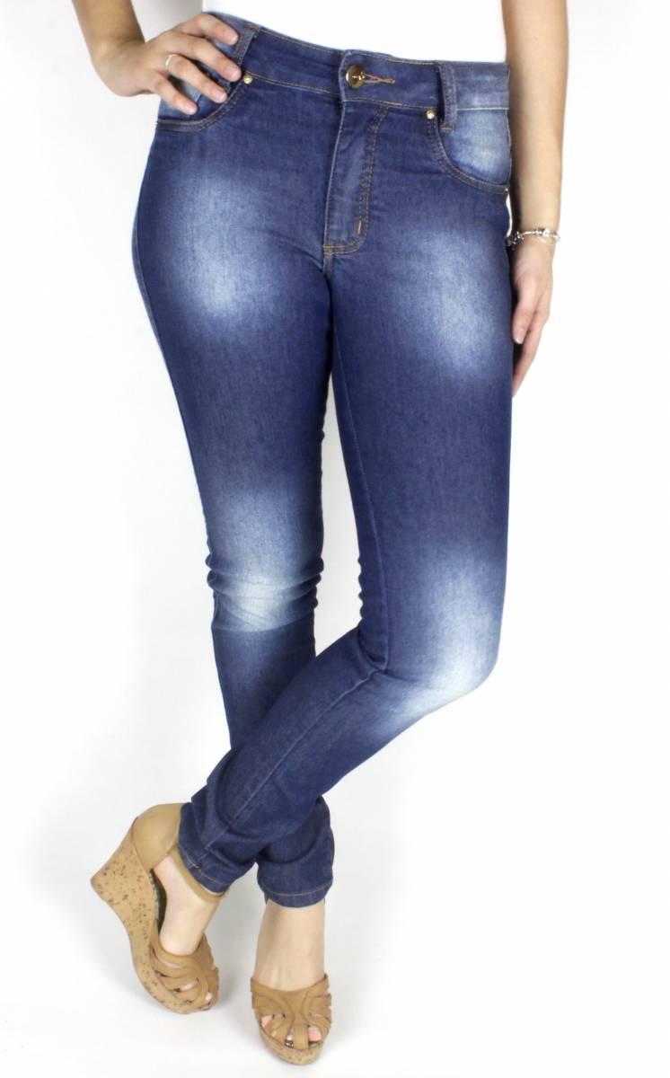Calça Jeans Feminina Skinny F2017099