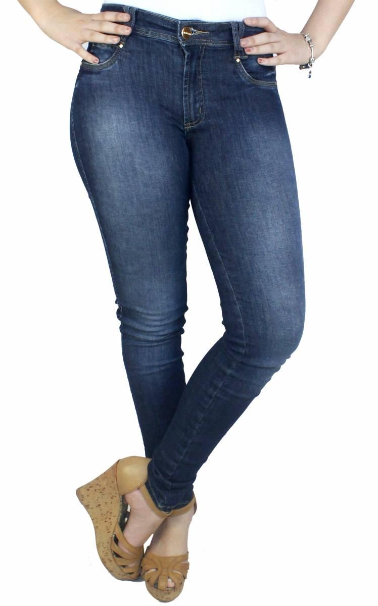 Calça Jeans Feminina Skinny F2019023
