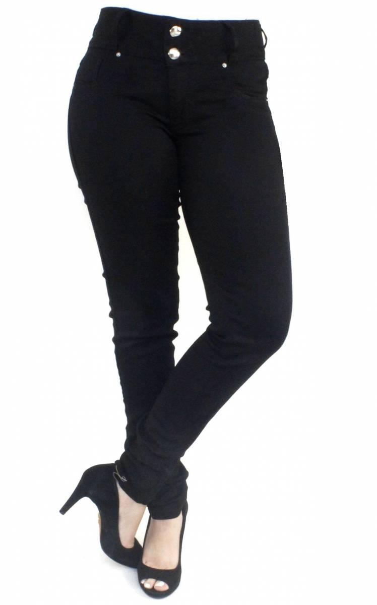 Calça Preta Feminina Skinny F2018180