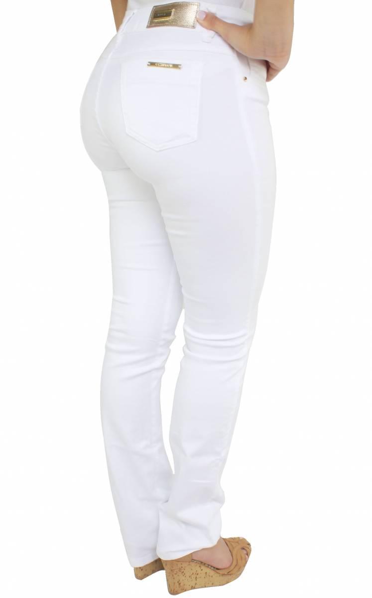 Calça Flare Branca Feminina F2017185