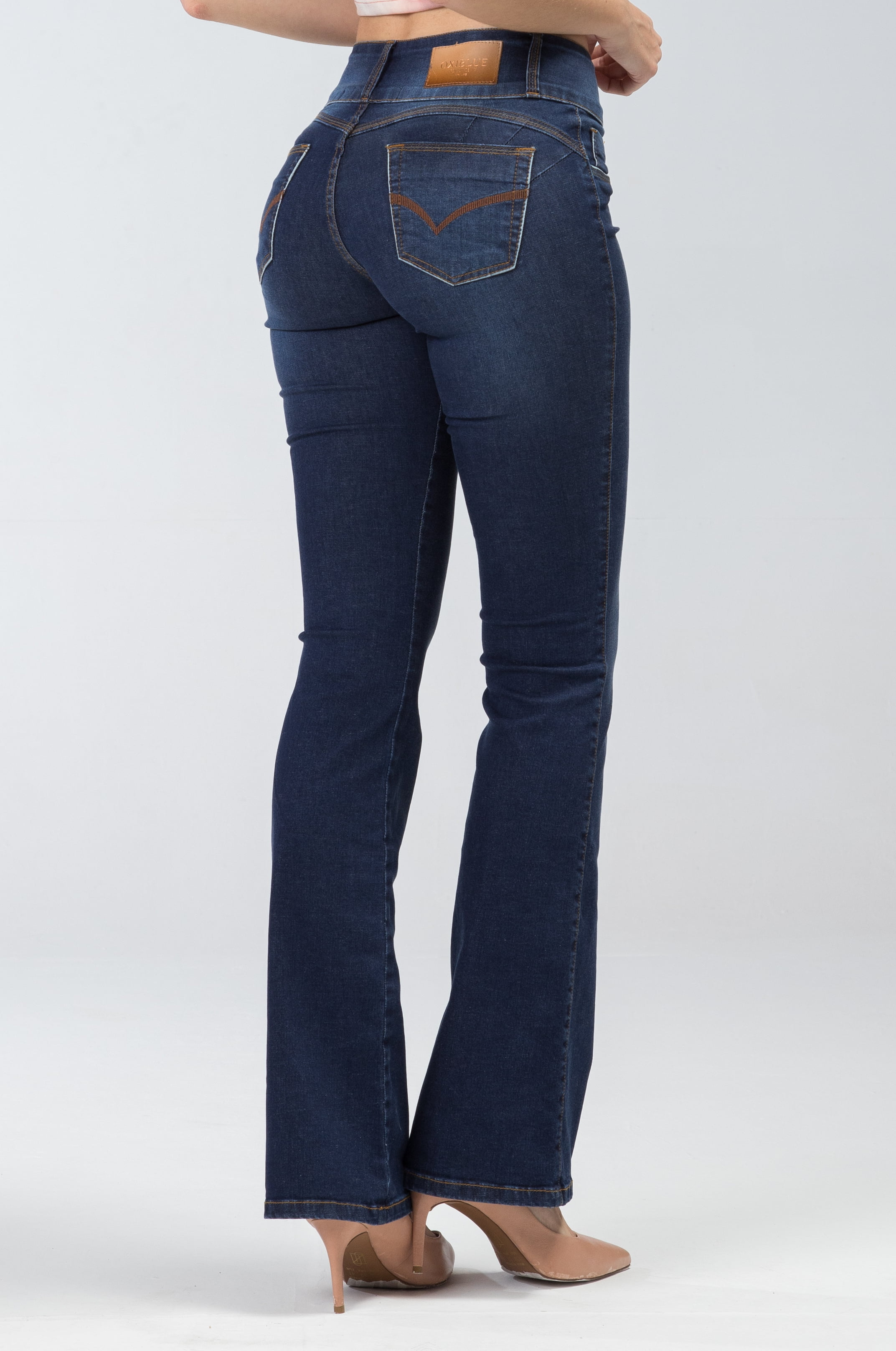 Calça Flare Jeans Levanta Bumbum F2020242