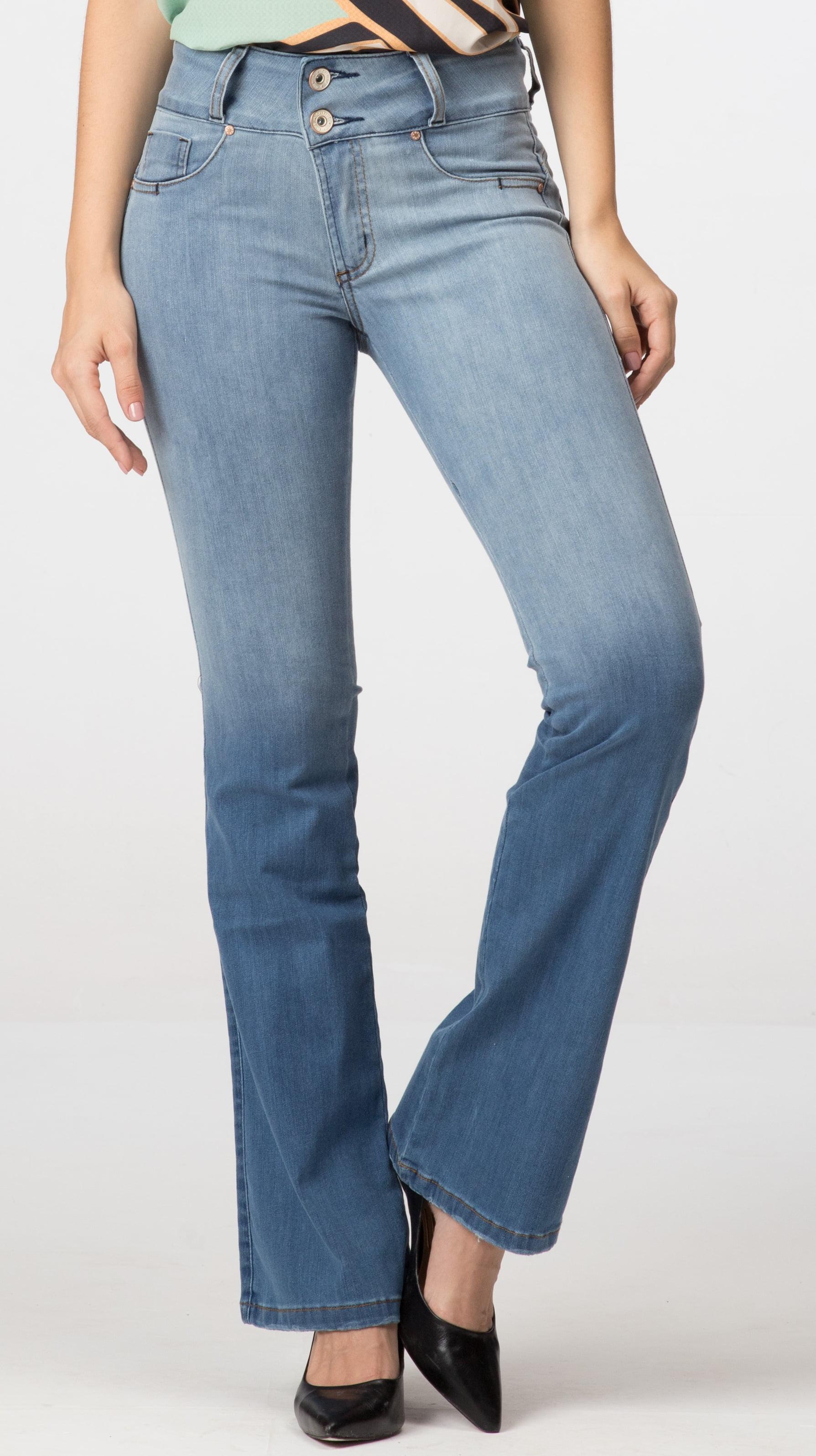 Calça Flare Jeans Levanta Bumbum F2020305
