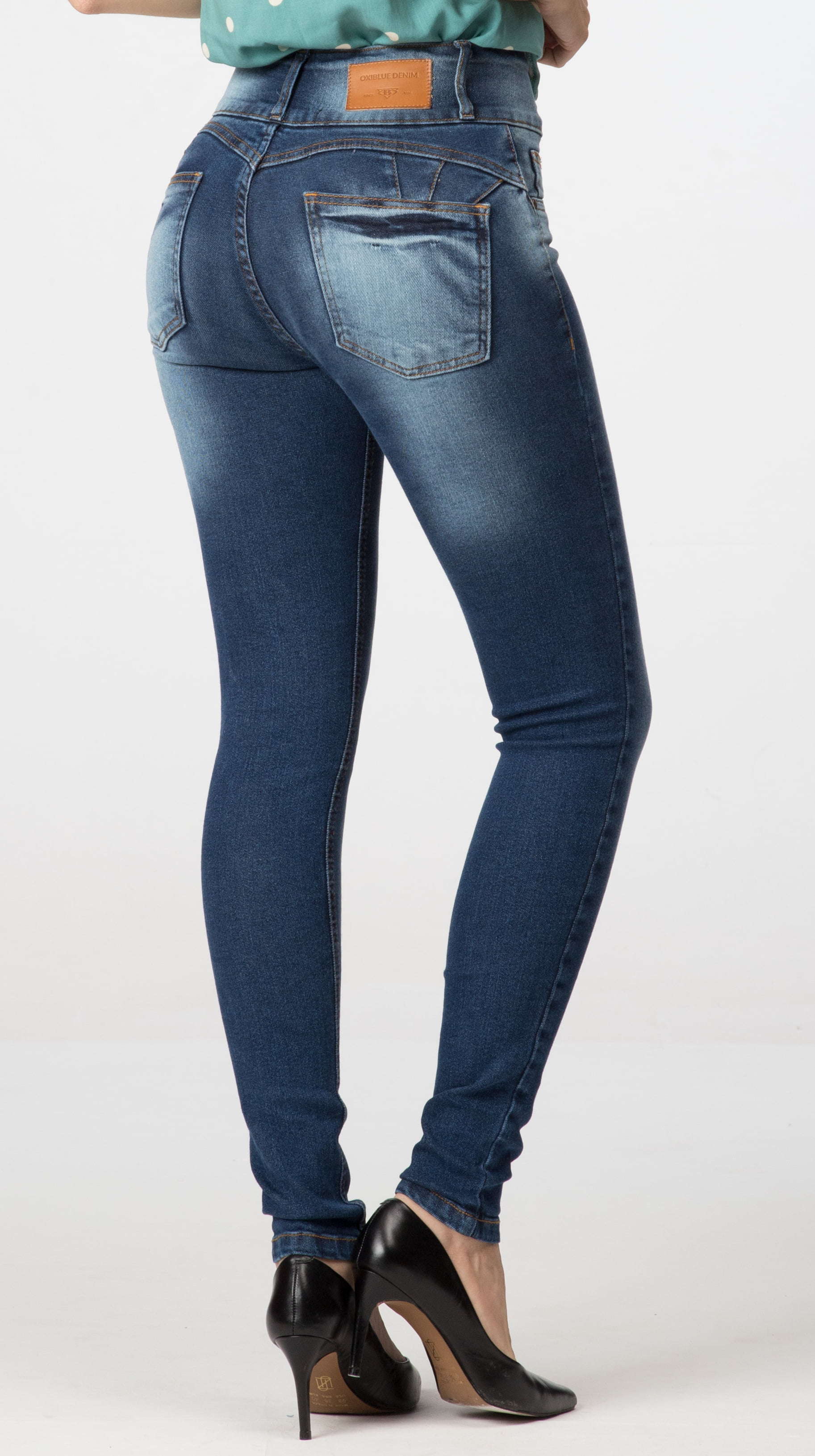 Calça Jeans Feminina Skinny Levanta Bumbum F2020302