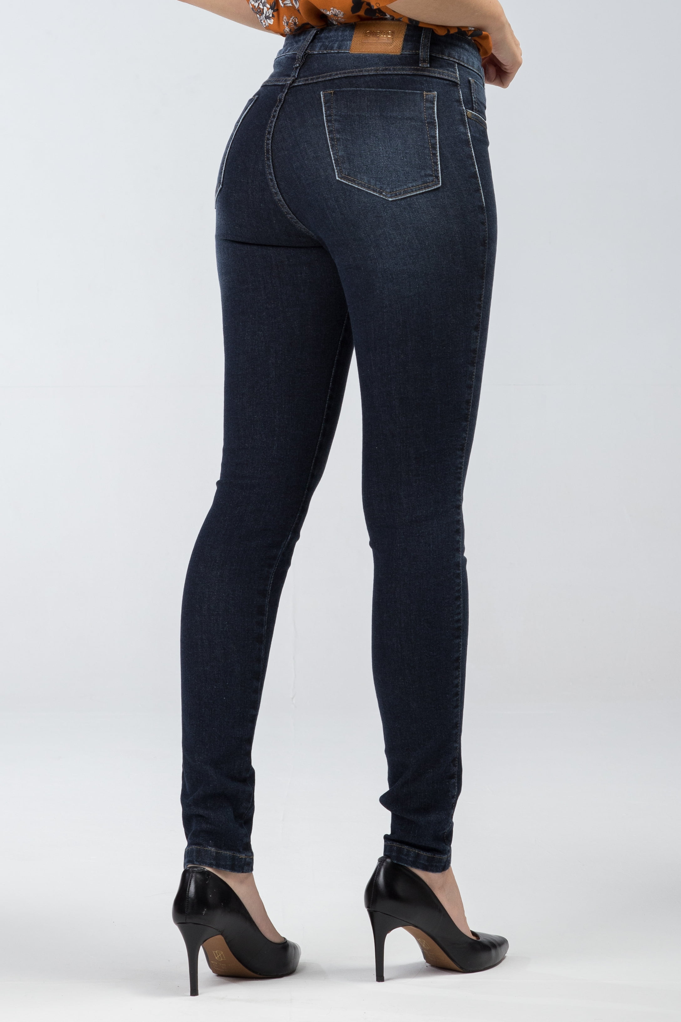 Calça Jeans Skinny Cintura Alta F2020251