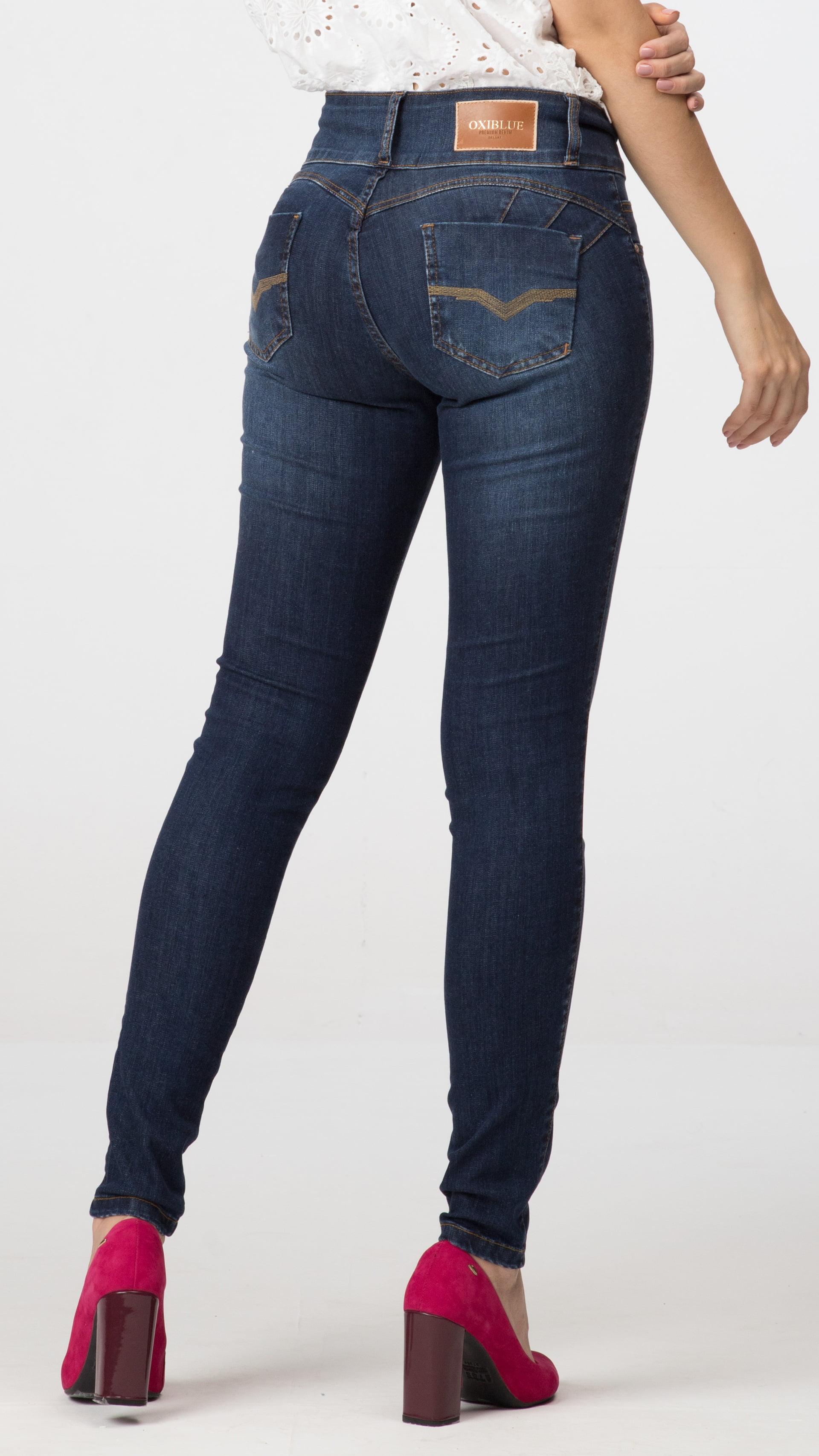 Calça Jeans Skinny Levanta Bumbum F2020303