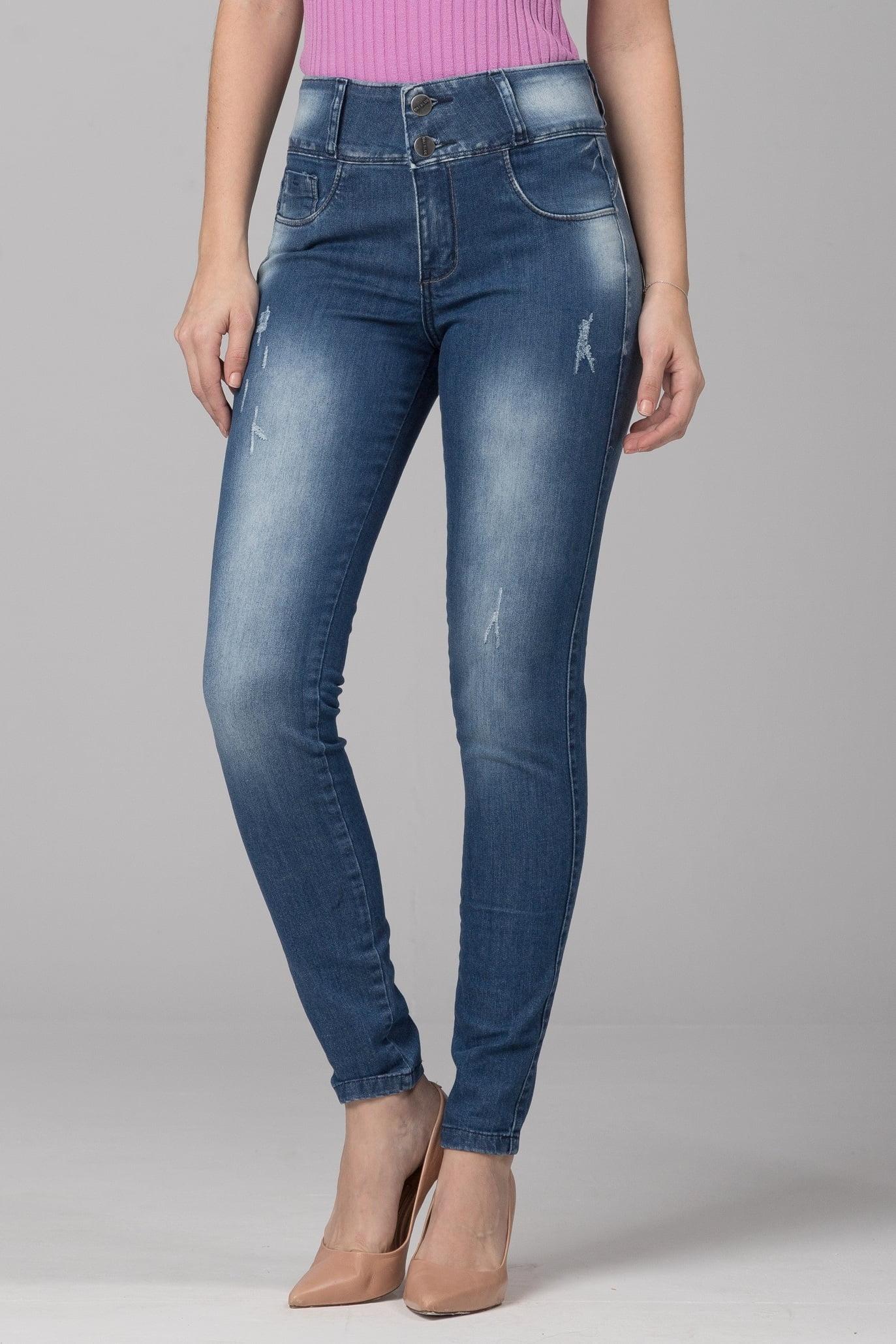 Calça Jeans Skinny Levanta Bumbum F2021063