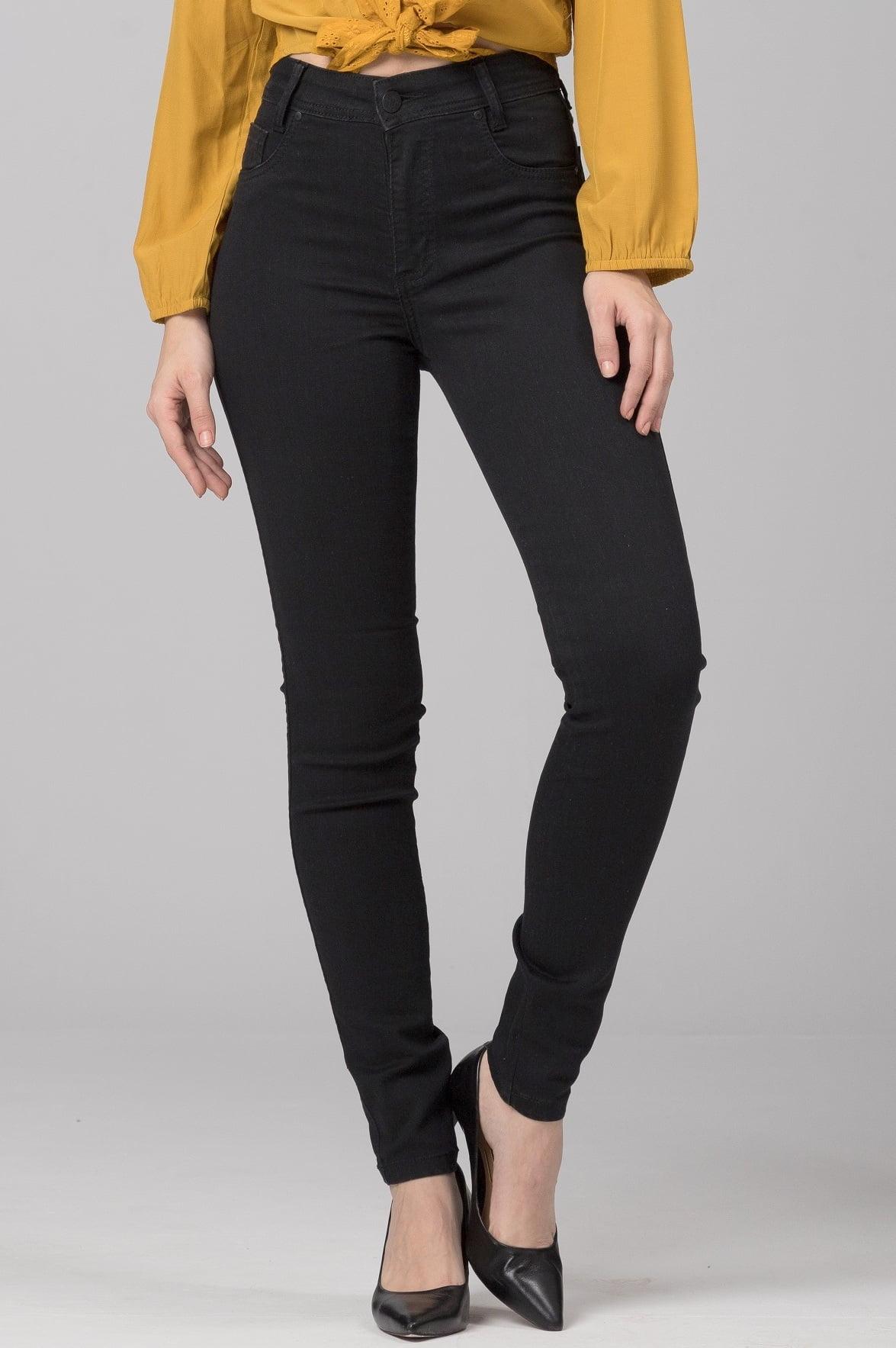 Calça Skinny Preta Stonada F2021061