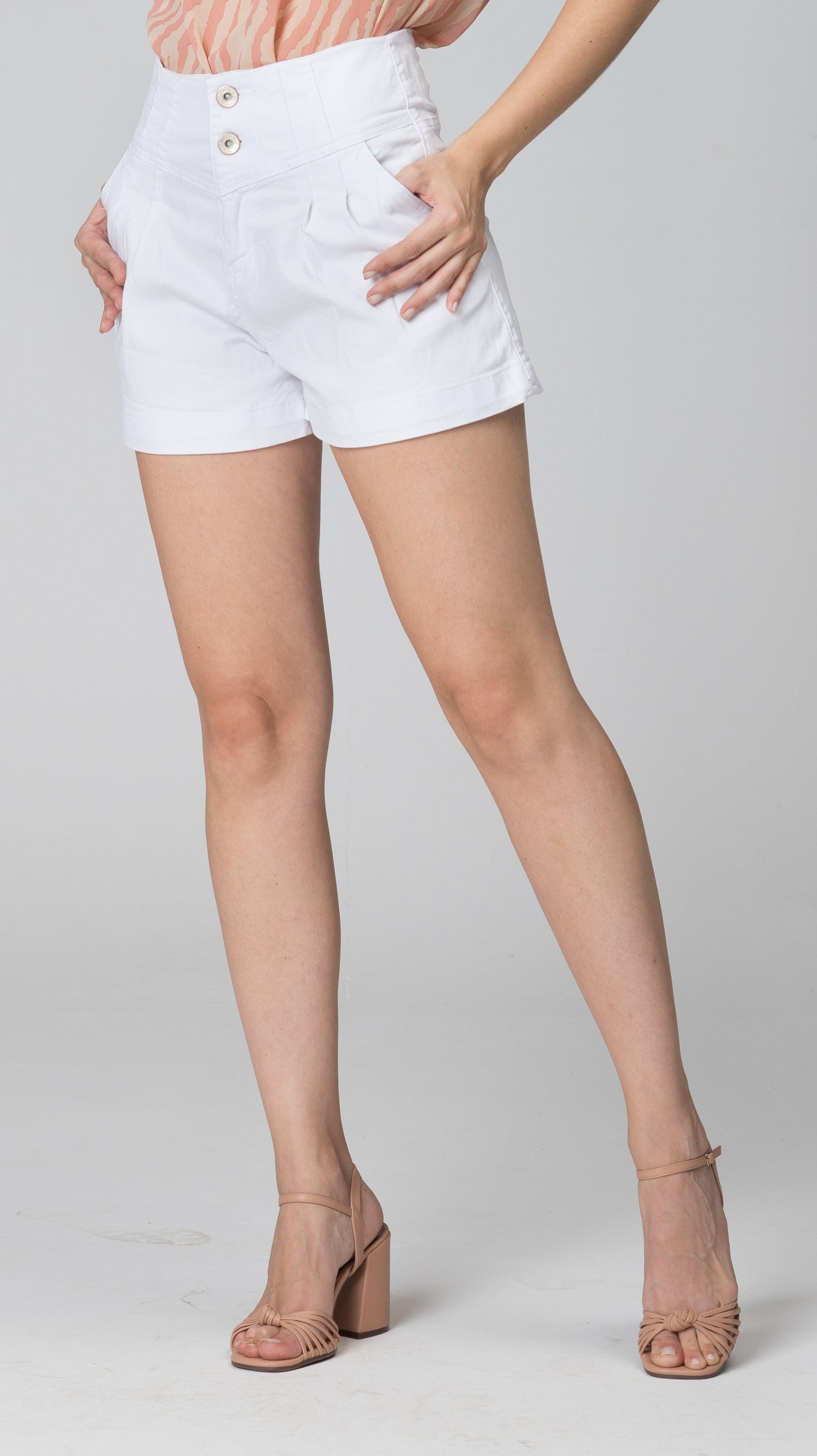 Short Branco Feminino F2020410