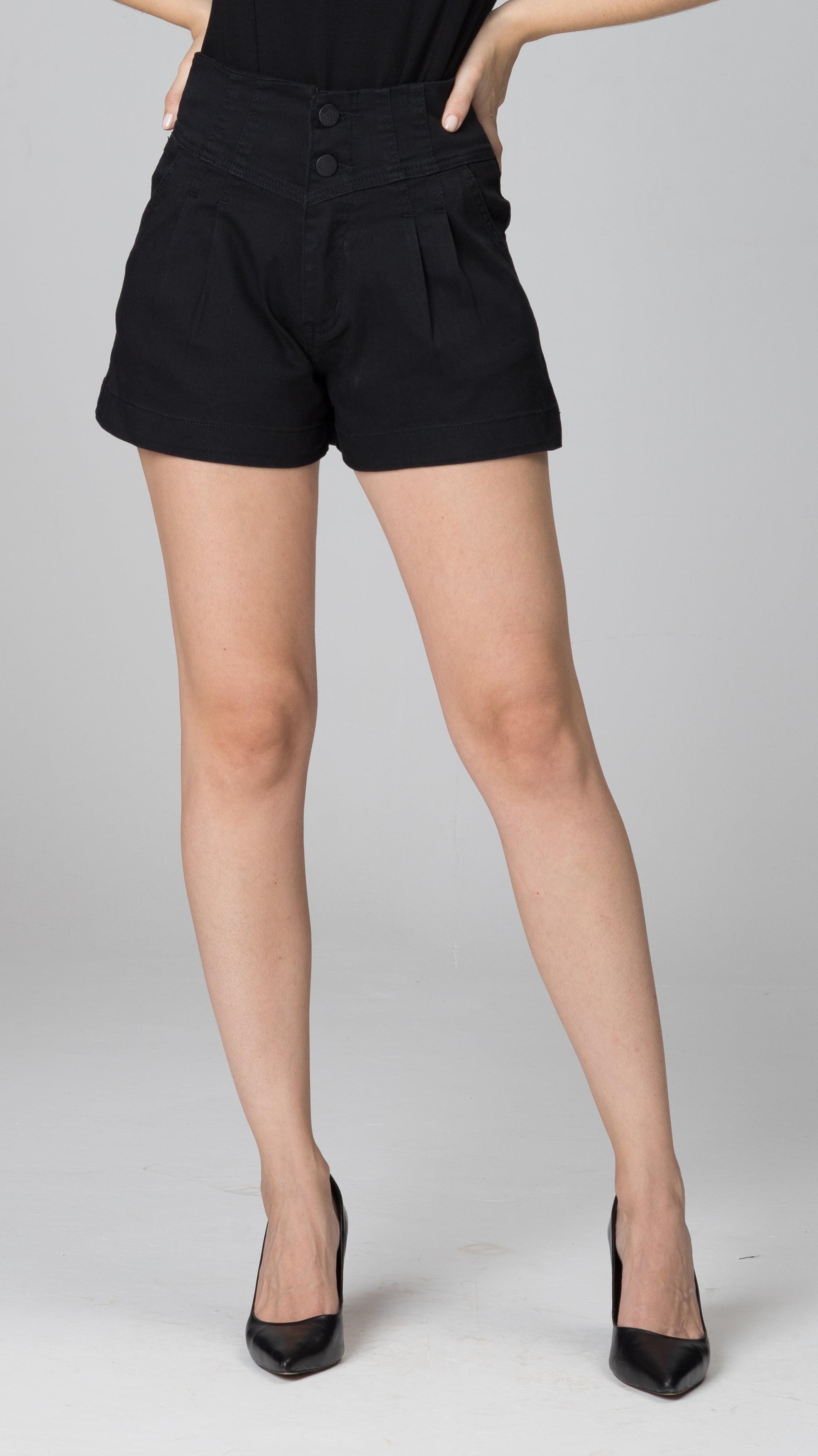 Shorts Preto Feminino F2020409