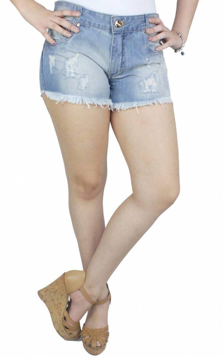 Short Jeans Feminino S191002
