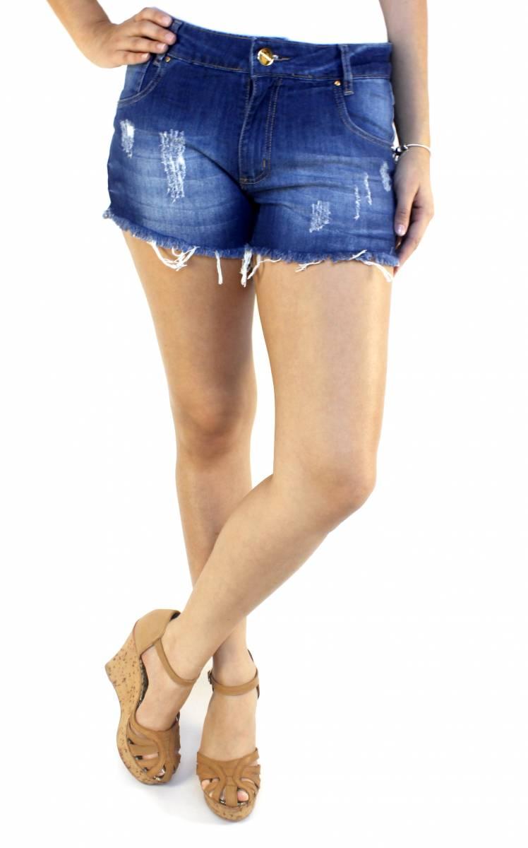 Short Jeans Feminino S172008