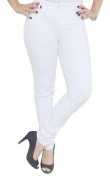 Calça Branca Skinny Feminina F2019035