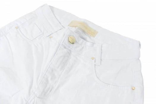 Calça Flare Branca Feminina F2019010