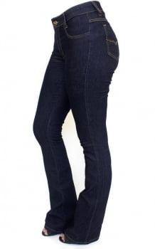 Calça Flare Jeans Escuro F2018029