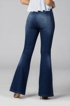 Calça Flare Jeans Feminina F2020108