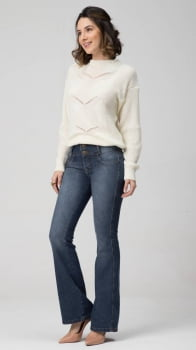 Calça Flare Jeans Levanta Bumbum F2020190