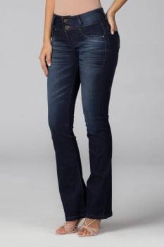 Calça Flare Jeans Levanta Bumbum F2020115