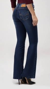 Calça Flare Jeans Levanta Bumbum F2020132