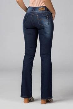 Calça Flare Jeans Levanta Bumbum F2020118