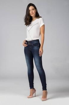 Calça Jeans Feminina Escura F2020116
