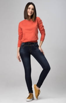 Calça Jeans Feminina Levanta Bumbum F2020233