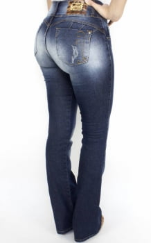 Calça Jeans Feminina Flare F2017006