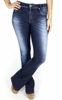 Calça Jeans Feminina Flare F2017057