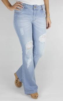 Calça Jeans Feminina Flare F2322