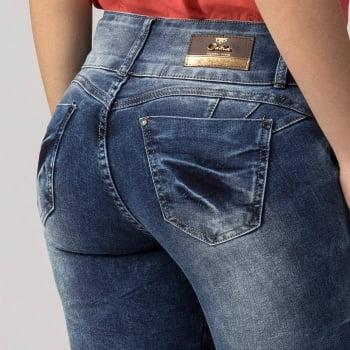 Calça Jeans Feminina Levanta Bumbum F2019320