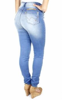 Calça Jeans Feminina Skinny Hot Pants F2301444