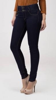 Calça Jeans Feminina Skinny Levanta Bumbum F2020136