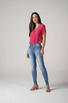 Calça Jeans Feminina Levanta Bumbum F2019328
