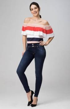 Calça Jeans Feminina Levanta Bumbum F2020231