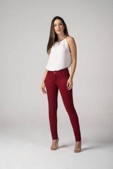 Calça Marsala Feminina Skinny F2019030