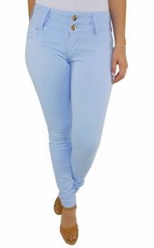 Calça Azul Claro Feminina Skinny F2017180