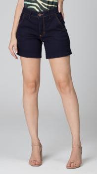 Bermuda Jeans Cintura Alta F2020450