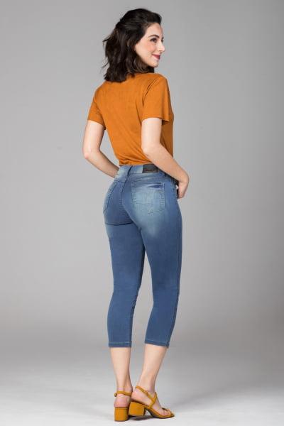 Calça Cropped Jeans Feminina CP010