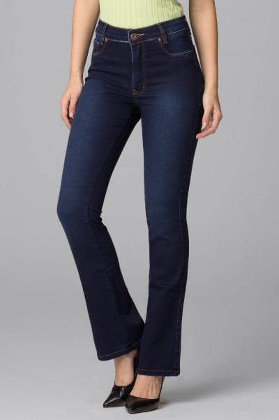 Calça Flare Jeans F2021035