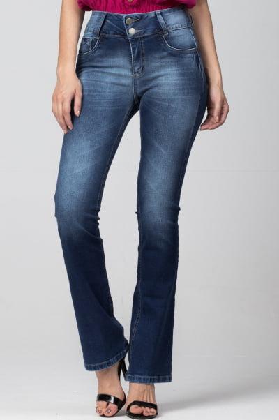 Calça Flare Jeans Feminina F2021751