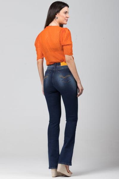 Calça Flare Jeans Feminina F2021765